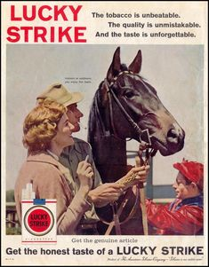 LUCKY STRIKE CIGARETTES SATURDAY EVENING POST 08/15/1959 BACK COVER