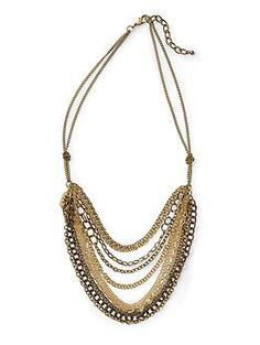 Hive & Honey Multi Chain Necklace | Piperlime