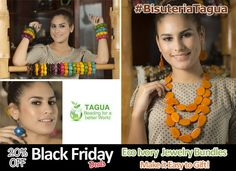 Make it Easy to Gift and Get Exactly What You Want for any ocassion. Save $$$ with our Eco Ivory Tagua #Jewelry bundles. #BlackFriday deals.
