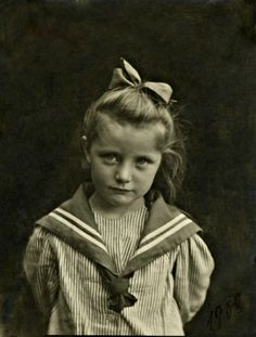 Little girl in a sailor