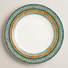 One of my favorite discoveries at WorldMarket.com: Voyage Mia Dinner Plates, Set of 2