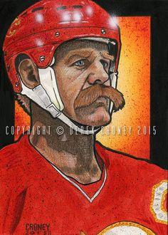 Lanny McDonald Calgary Flames by crow30.deviantart.com on @DeviantArt
