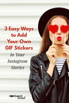 3 Easy Ways to Add Your Own GIF Stickers on Instagram Stories #InstagramStories #GIFs #GIFStickers Marketing Articles, Content Marketing, Internet Marketing, Online Marketing, Social Media Marketing, Digital Marketing, Marketing Ideas, Instagram Blog, Instagram Story