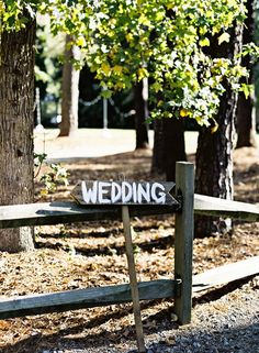 Need to make these signs #wedding #decor #rustic