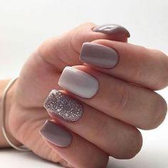 Semi-permanent varnish, false nails, patches: which manicure to choose? - My Nails Elegant Nail Designs, Elegant Nails, Classy Nails, Gel Nail Designs, Stylish Nails, Simple Nails, Trendy Nails, Natural Nail Designs, Nails Design