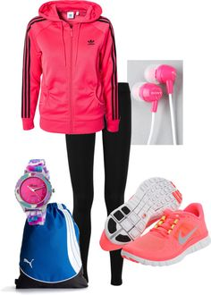 """Sporty Girl"" by natalie-erhard on Polyvore"