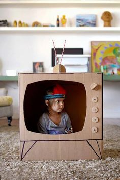 15 Cute And Easy Diy Cardboard Toys Ideas Your Kids Will Love . 15 Cute and Easy DIY Cardboard Toys Ideas your Kids Will Love easy diy kid toys - Diy Toys Diy Toys Easy, Easy Diys For Kids, Diy Kid Toys, Diy Toys At Home, Toddler Toys, Girl Toddler, Kids Crafts, Projects For Kids, Diy Projects
