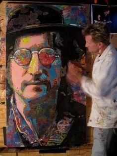 John Lennon  art Tom Noll