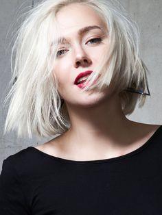 54 Besten Frisuren Kinnlang Bilder Auf Pinterest Hairstyle Ideas