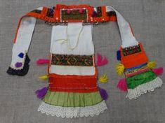 """Убор головной женский марийский """"Сорока"""" Период создания:рубеж XIX - XX вв. Материал, техника:ткань шерстяная, ткань шёлковая, кружево фабричное тюлевое, стекло, позумент, металл, холст конопляный, нить шерстяная, нить шёлковая, вышивка счётным швом, ткачество домашнее, ткачество фабричное, сшито на руках, ручная работа Размер:56 х 122 см Мода"""