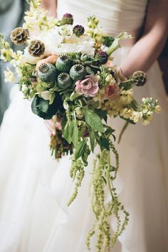 Wedding Philippines - Whimsical Fairytale Forest Woodland Wedding Ideas - Bouquet 01