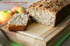 Scrumptious Harvest Apple Bread #apples  #breadrecipes