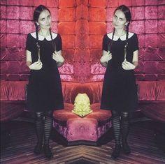 INSOMNIA: Halloween Wednesday Addams
