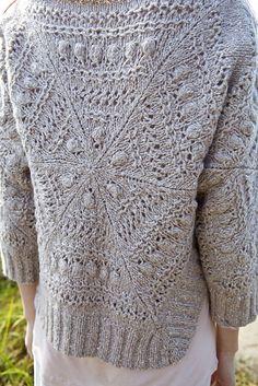 """Gorgeous """"Taku"""" pullover by Norah Gaughan. In Berroco: Norah Gaughan Vol 10."""