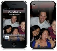 Unique Gift Idea - Create Your Own GelaSkin! Removable Art Prints For IPhone