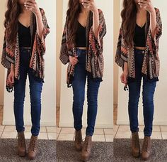 fashion, outfit, and clothes Bild