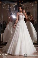 Elegante vestido de noiva abrir volta rendas applique sexy vestido de noiva 2015 organza a linha vestido de casamento vestido de noiva EV0321