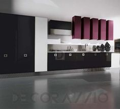 #kitchen #design #interior #furniture #furnishings комплект в кухню Aran Cucine Dali, ACD04BW