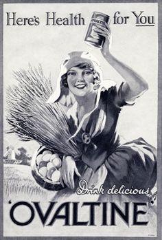 Ovaltine Advert from 1929
