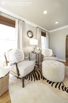 A Well Dressed Home: Pearson Living Room