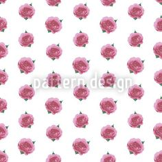Splendid English Roses designed by Martina Stadler available on patterndesigns.com English Roses, Vector Pattern, Vector File, Surface Design, Scrap, Printables, Valentines, Romantic, Patterns
