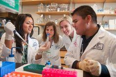 SDSU senior Kristen Regini (left) hopes to build upon her experience at Harvard Medical School to assist her Native American community.