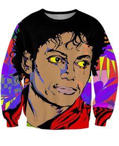 Michael Jackson Famous Singer Dancer King Of Pop Artwork Sweatshirt  #Michael #Jackson #Famous #Singer #Dancer #King #Of #Pop #Artwork #Sweatshirt
