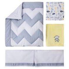 Circo™ 4pc Crib Bedding Set - Zigs 'n Zags : Target