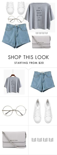 """SHOPKOZY.com"" by monmondefou ❤ liked on Polyvore featuring MICHAEL Michael Kors and Maison Margiela"