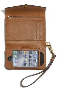 Michael Kors iPhone Wristlet. I want!