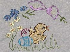 Easter Embroidery Designs