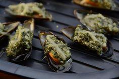 Mosselen met persillade als aperitiefhapje