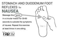 reflexology-stomach and duodenum foot reflexes for nausea Reflexology Benefits, Reflexology Points, Acupuncture Benefits, Reflexology Massage, Massage Benefits, Acupressure Points, Health Benefits, Acupuncture Points, Massage Tips