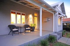 Chill on the porch through twilight, at Cottesloe Beach House Stays in #Perth, #Australia