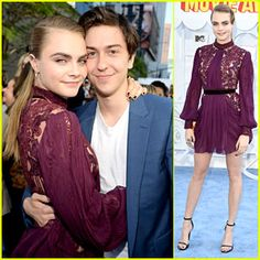 """I can't wait a new film ,,Paper Towns"""".  In the picture are Nat Wolff & Cara Delevingne :*"""