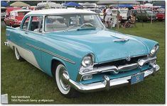 Plymouth cars 1956: The ship becomes a plane