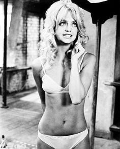 vintage fitness inspiration. goldie hawn in the 60s! she does and always has looked JUST LIKE my mom