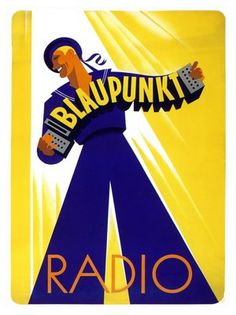 1930s blaupunkt radio