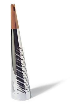 This is a great reason to eat cheese everyday on everything. Todo 2004 Cheese grater Alessi  Richard Sapped  #StainlessLiving