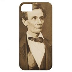 Hesler photograph of Lincoln iPhone 5 Case