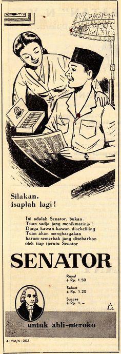Indonesian Old Commercials :SENATOR cigarette