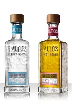 A new positioning for Pernod Ricard's premium tequila Olmeca Altos has been designed by Coley Porter Bell to help is operate as a stand-alone brand. Beverage Packaging, Bottle Packaging, Old Bottles, Liquor Bottles, Drink Bottles, Grand Marnier, Tequila Bottles, Vodka Bottle, Mead