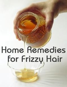 Home Remedies for Frizzy Hair: So here are a few hair care home remedies just for those frizzy hair sufferers.: Home Remedies for Frizzy Hair: So here are a few hair care home remedies just for those frizzy hair sufferers. Frizzy Hair Remedies, Home Remedies For Hair, Healthy Hair Remedies, Curly Hair Styles, Natural Hair Styles, Natural Beauty, Tips Belleza, Hair Care Tips, Hair Health