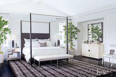 Transitional White Master Bath - Luxe Interiors + Design