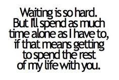 waiting is so hard.