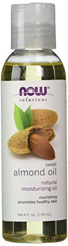 NOW Foods Almond Oil, 4 Ounce >>> READ REVIEW @ http://www.nummulardermatitis.com/skincare101/10123/?095