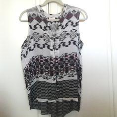 PARKER BLOUSE Gorgeous blouse. In good condition. 100% silk. Parker Tops Blouses