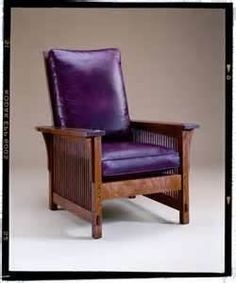 Ooh, Purple Leather ! Stickley Furniture   Bing Images Purple Furniture,  Art Furniture,