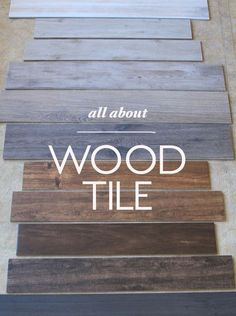8 Tips for Nailing the Wood Tile Look | Little Green Notebook | Bloglovin