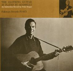 Smithsonian Folkways - Guitar as Played by Lead Belly - Pete Seeger Rock N Roll Music, Rock And Roll, Guitar Lessons For Kids, Lead Belly, American Folk Music, Pete Seeger, 12 String Guitar, Guitar Quotes, Prison Life
